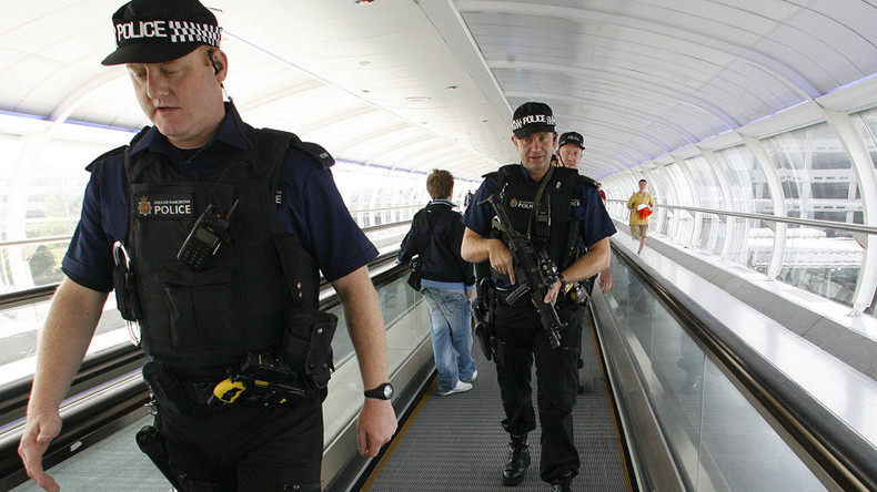 Two British nationals arrested on terrorism charges at Birmingham airport