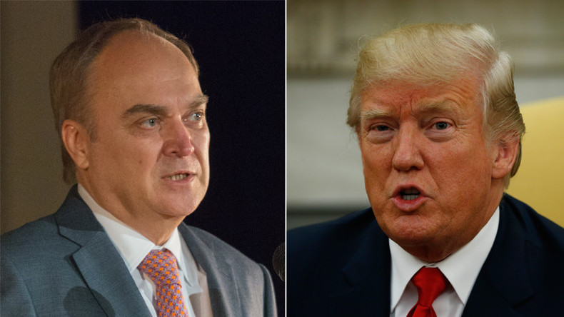 Trump to meet new Russian Ambassador to US Antonov on Friday