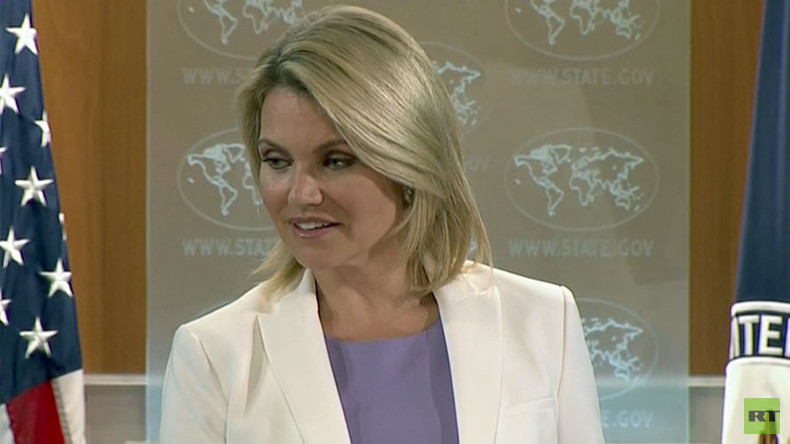 'Are you working for RT?': State Dept's Nauert to reporters asking about diplomatic row with Russia