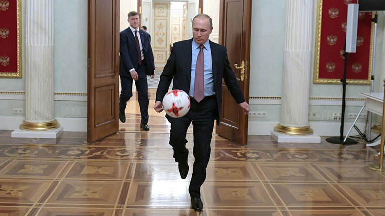 Putin to attend 2018 FIFA World Cup Russia trophy tour kick-off ceremony in Moscow