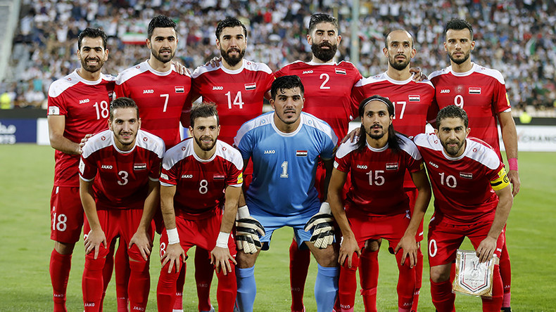 Never say die: Syria's heroic footballers are an inspiration to us all