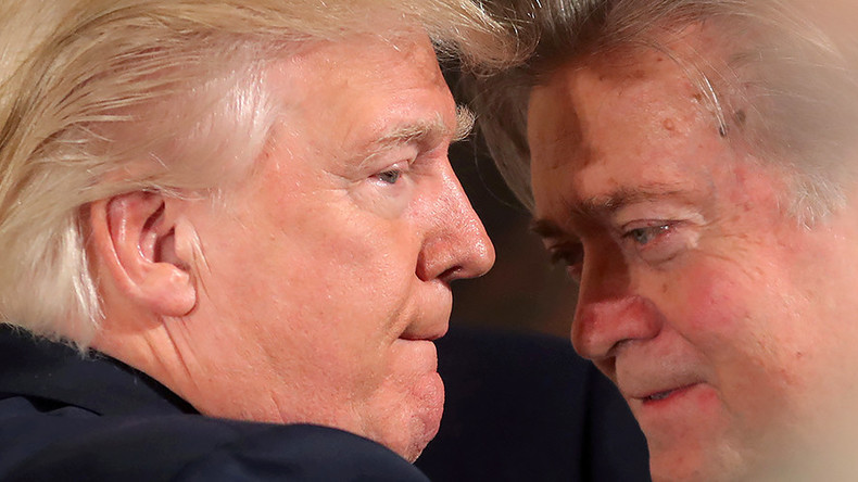 Bannon reveals secrets of Trump's White House Bunch – and they're pretty Wild!