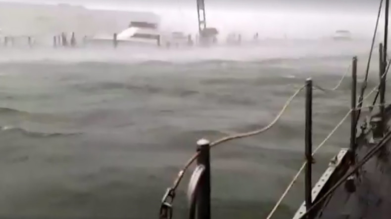 Riders on the storm: Sailor livestreams Hurricane Irma from his boat (VIDEO)