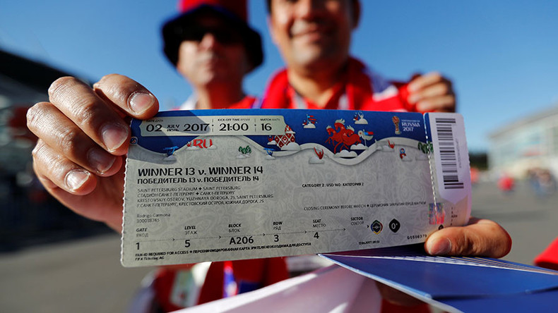 1st phase of ticket sales for Russia 2018 World Cup to begin Thursday