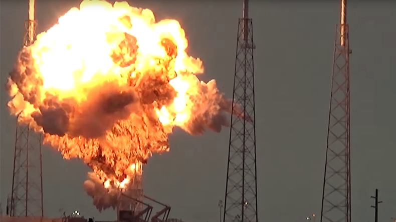 Elon Musk's epic montage of explosive SpaceX fails (VIDEO)