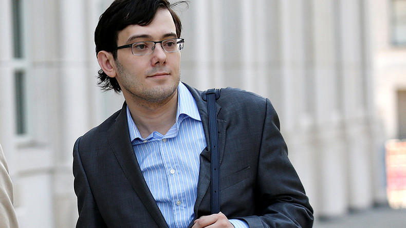 'Pharma Bro' Shkreli sent to jail after offering $5k for Clinton's hair in cloning joke