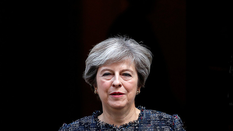 May trying to 'seize power' like Hitler, Vanity Fair editor says