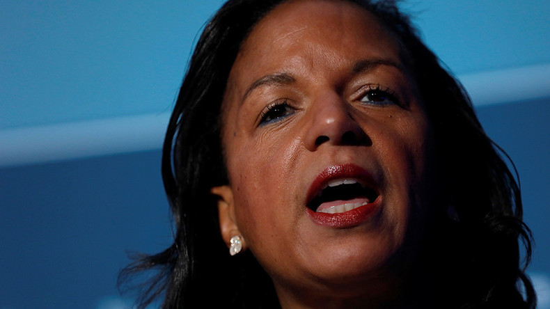 'Tip of the iceberg': Trump condemns Susan Rice for unmasking aides