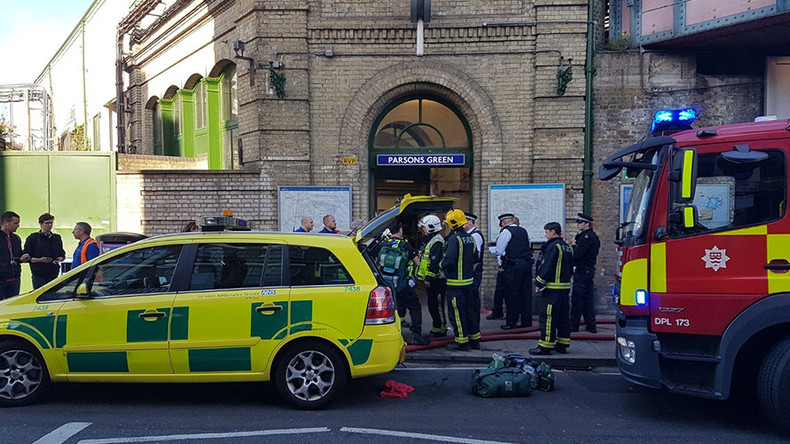 Witnesses describe 'fireball' and 'stampede' in Parsons Green explosion
