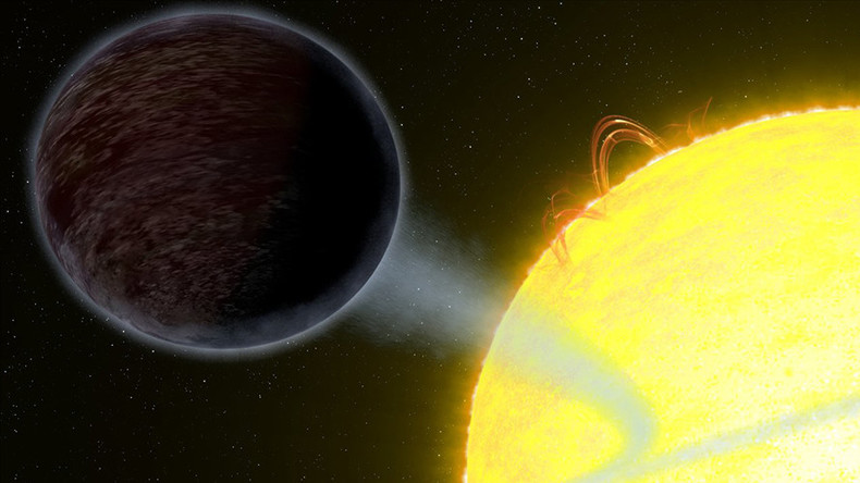 Hubble spots pitch-black exoplanet so hot it 'eats light' from nearby star