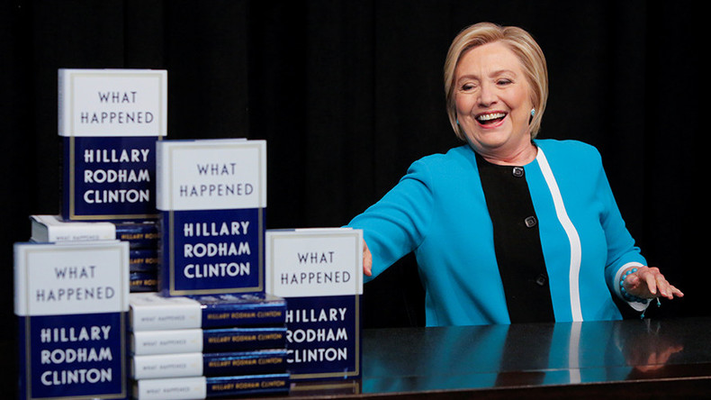 What happened? Amazon purging bad reviews of Clinton's book
