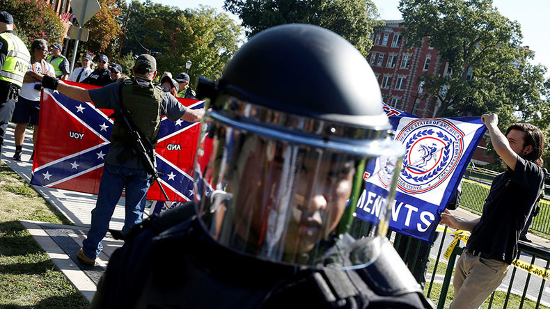 7 detained as rival rallies face off over Confederate statue in Richmond (PHOTOS, VIDEO)