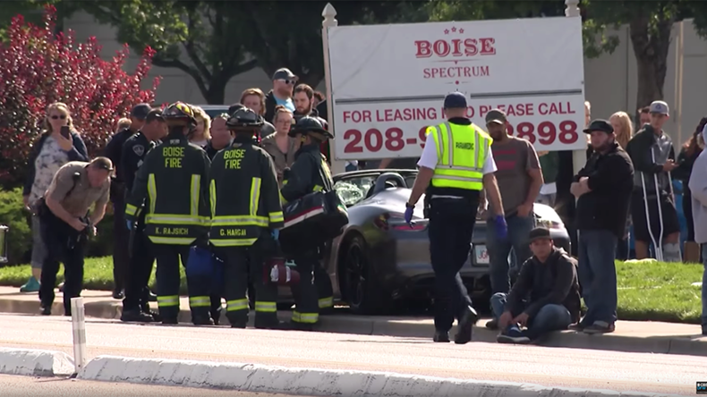11 injured after man smashes car into crowd at Boise car show (VIDEOS)