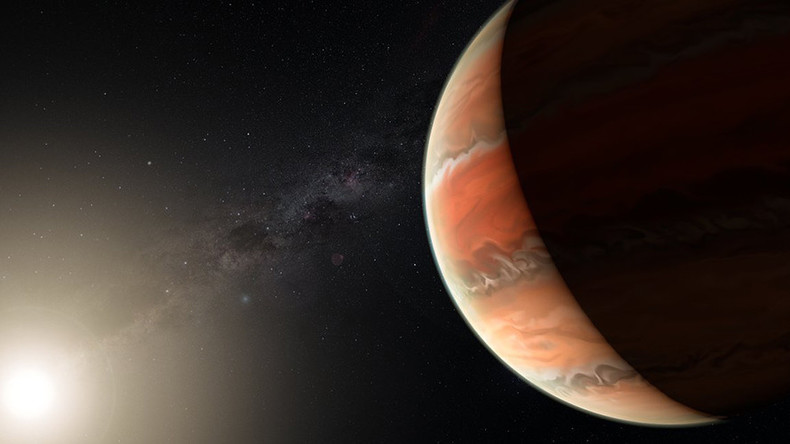 'Inferno world': Hot Jupiter exoplanet is 4 times hotter than Venus