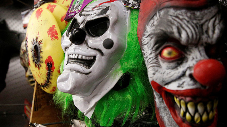 Clown mask panic: Dad charged as 6yo girl flees & hides in stranger's apartment