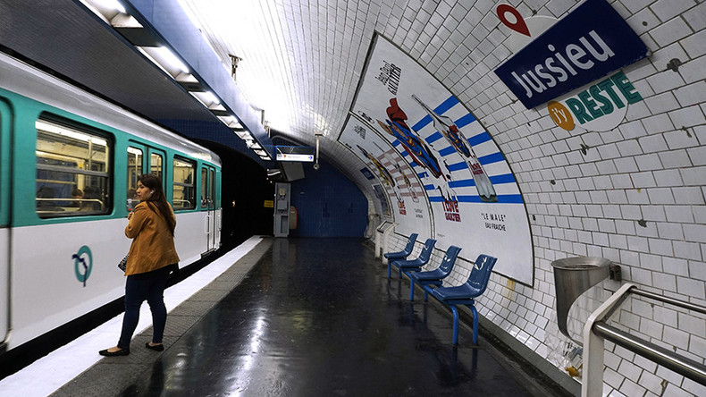 'It's like asbestos!' Paris Metro staff protest underground air quality