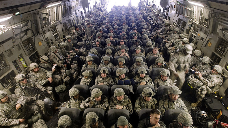 Over 3,000 new US troops headed to Afghanistan - Pentagon