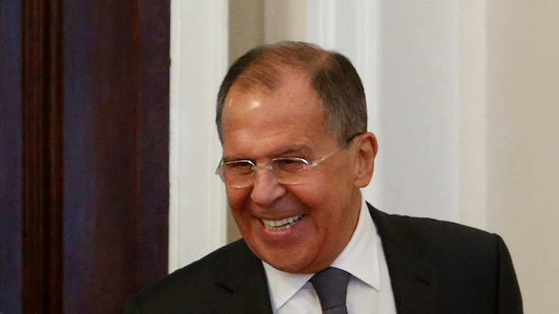 'If you want a shot of something, I can offer you anything,' Lavrov tells Swiss FM