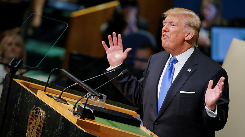US 'example for everyone', may 'totally destroy North Korea': 8 quotes from Trump's UN speech