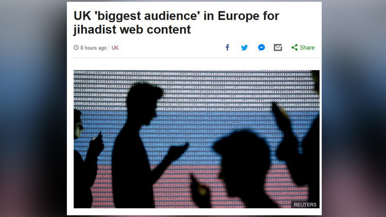 Moscow wonders what Russian flag has to do with BBC story on jihadist propaganda in UK