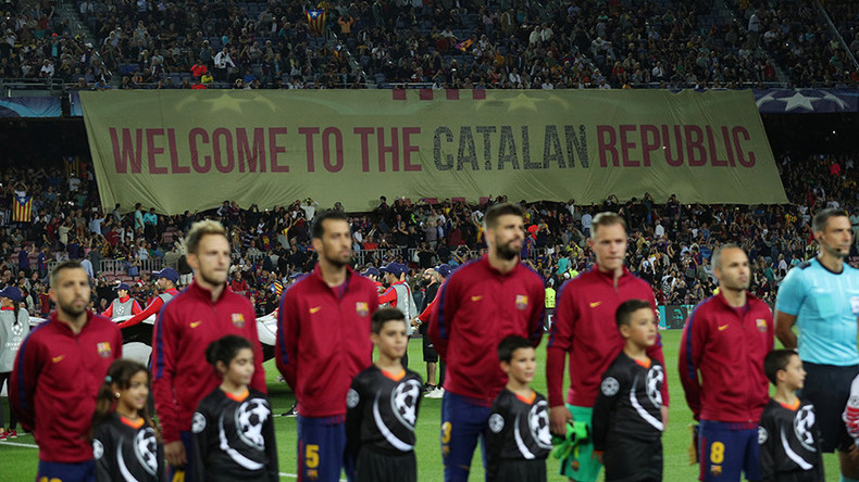 FC Barcelona release statement condemning government obstruction of Catalan referendum