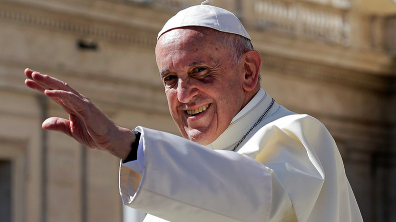 Pope fiction: Francis plays himself in big screen debut