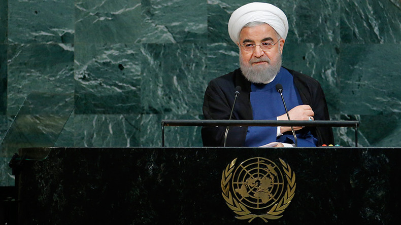 'Rogue newcomer': Rouhani calls Trump's UN remarks over nuclear deal 'ignorant & absurd'
