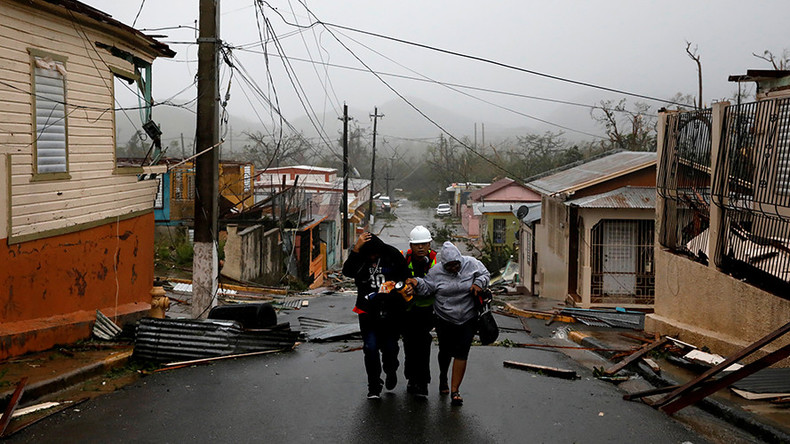 'Total devastation': Hurricane Maria brings high winds and flooding to Puerto Rico (IMAGES, VIDEO)