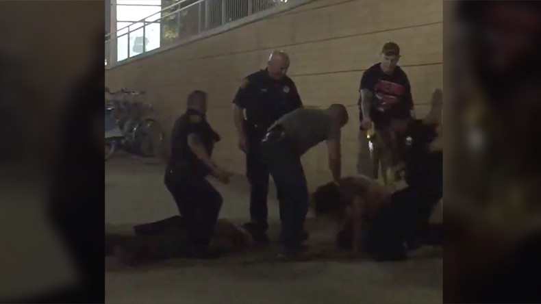 Police repeatedly punch man & smash his head off sidewalk during arrest (GRAPHIC VIDEO)