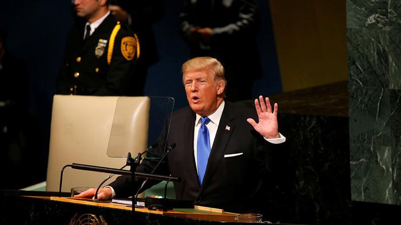 Trump's UN speech heralds end of the American empire