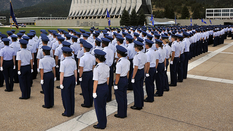 Cadet praised for rape prevention charged with sex assault on man