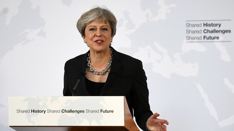 Extra time? Theresa May seeks 2yr Brexit 'transition period,' concedes it will cost UK