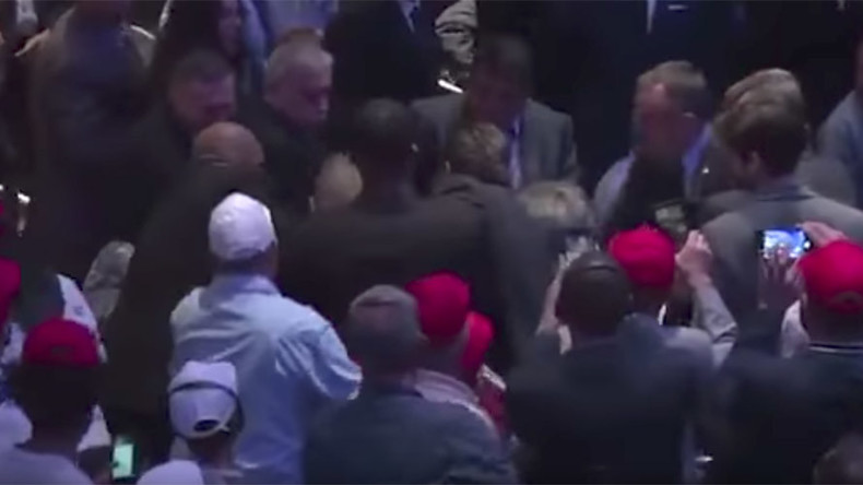 Again? American protester beaten at Erdogan event in NY as Turkish president looks on