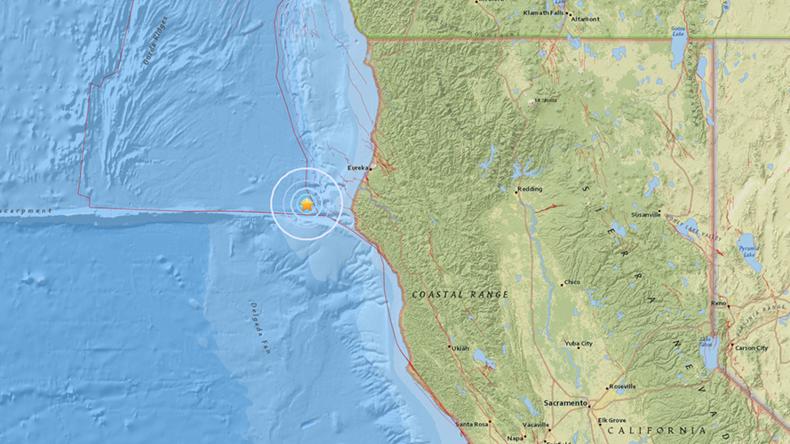 5.7 magnitude earthquake strikes N. California – USGS