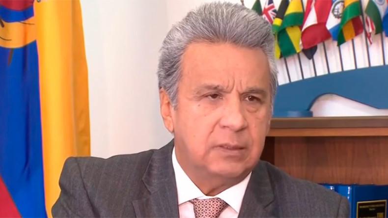 Ecuador will extend Assange's asylum over fears for his life - President Moreno