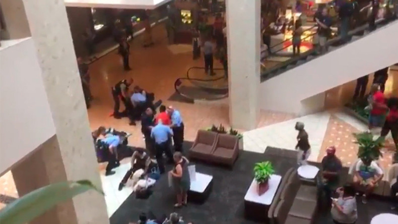 22 arrested in fresh St. Louis mall protests after ex-cop acquitted in black man's killing (VIDEO)