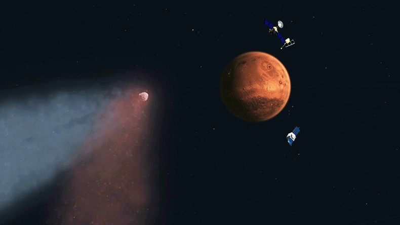 Cosmic cancer threatens manned Mars mission