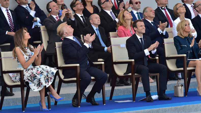 Trump's parade dreams expose deep schism in US over military affairs