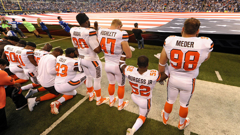 'We'll show games when you show respect': Restaurants boycott NFL over #TakeAKnee protest