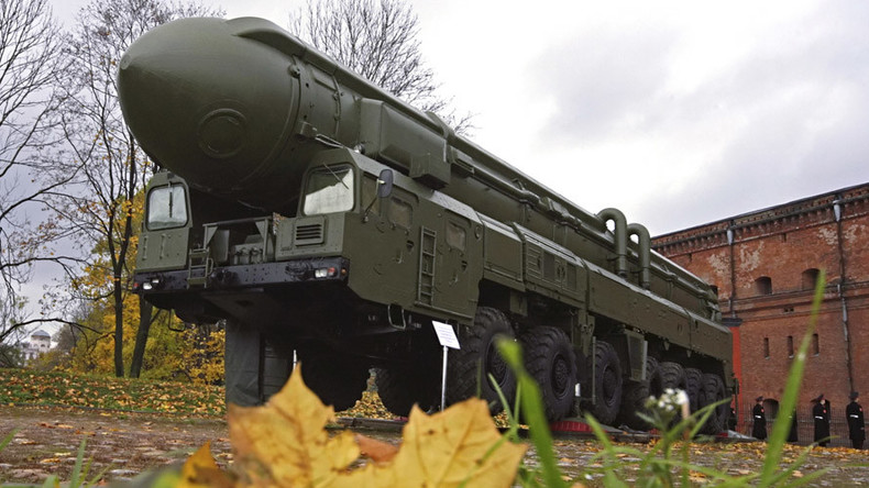Russia test-fires 'Topol' ICBM with new advanced warhead