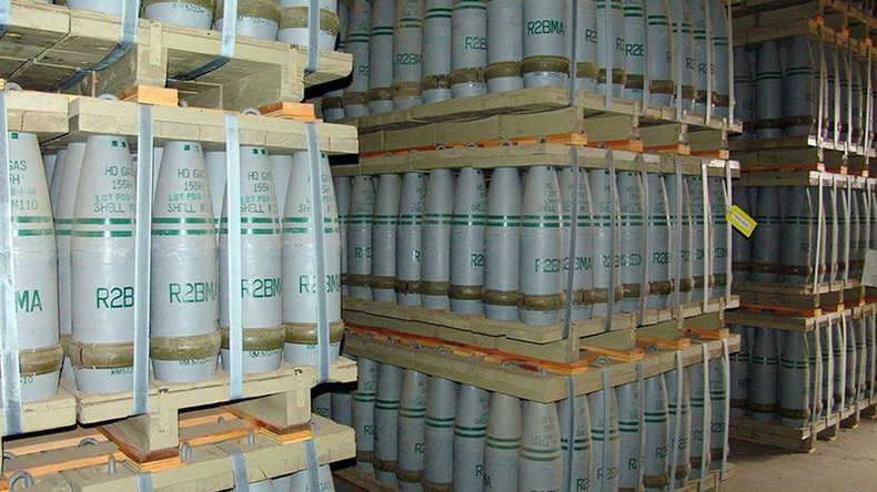Toxic promise: US vows to destroy its chemical weapons... despite being 5yrs behind schedule