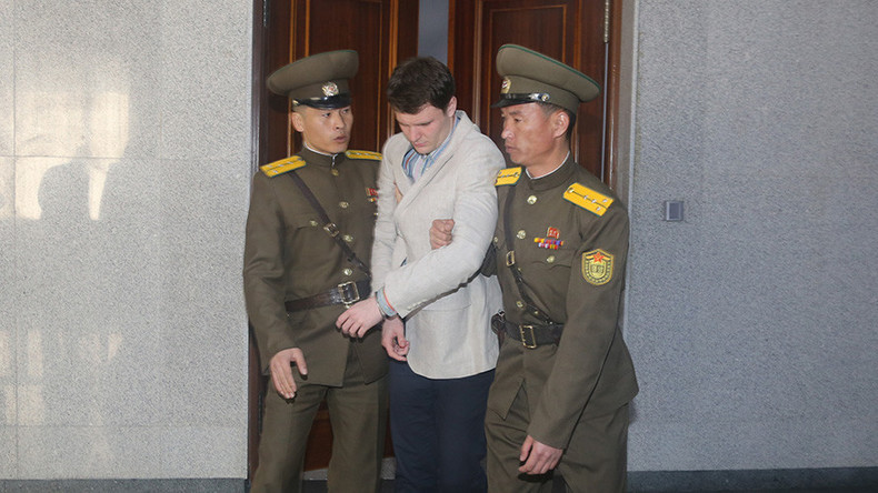 North Korea accuses 'old lunatic' Trump of exploiting US student Warmbier's death