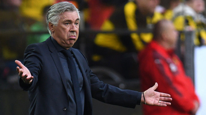 Bayern Munich fires head coach Carlo Ancelotti