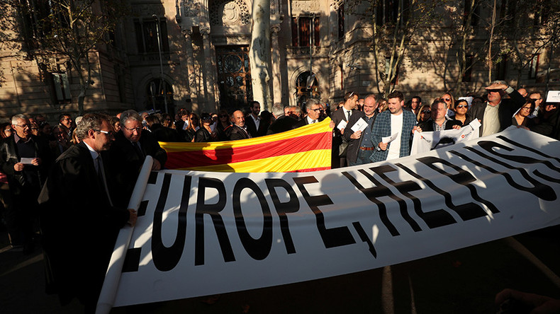 Catalonia urges EU to mediate on independence, 'secretly prints' referendum ballots