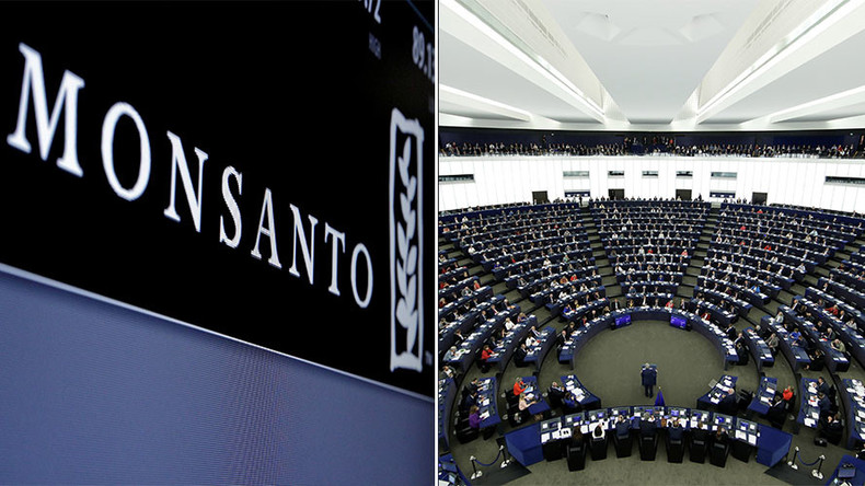 MEPs agree to ban Monsanto lobbyists from European Parliament
