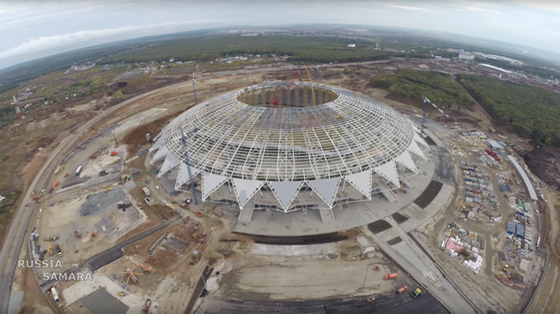 'Construction delays, but local govt vows to finish ASAP': FIFA on Samara 2018 World Cup arena