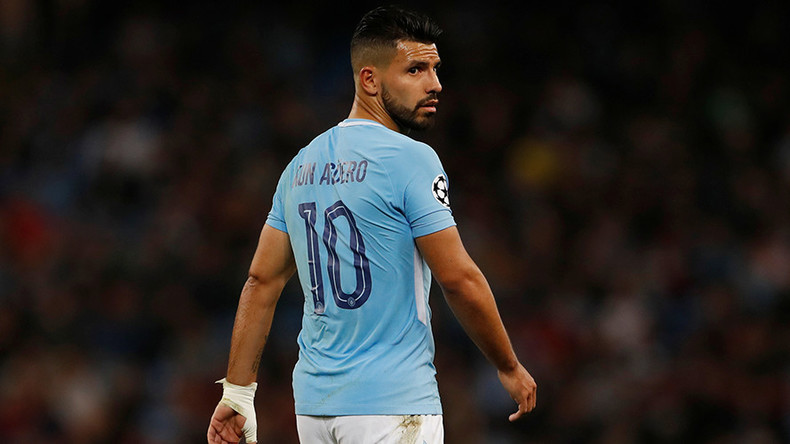 Manchester City star Sergio Aguero injured in car accident