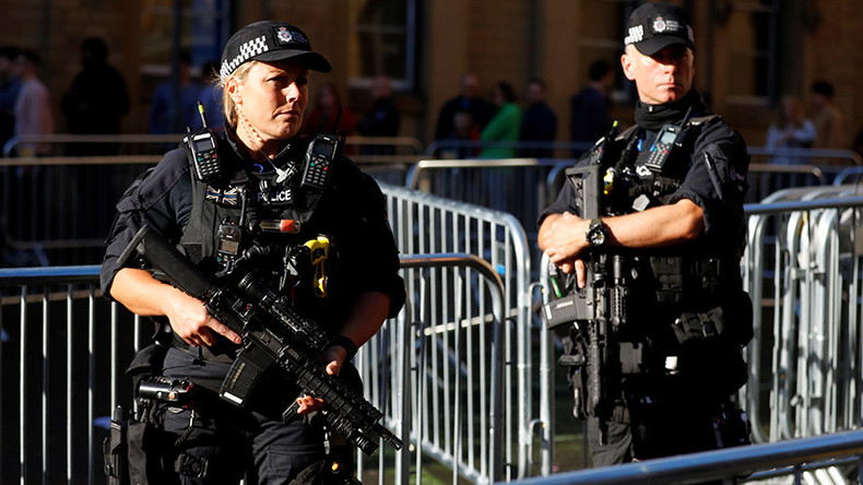 Tory party conference to get 'biggest ever' armed security detail, Manchester police tell RT