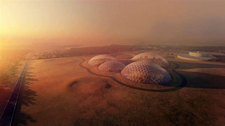 UAE to build $132mn mock 'Martian City' in the desert (PHOTOS)