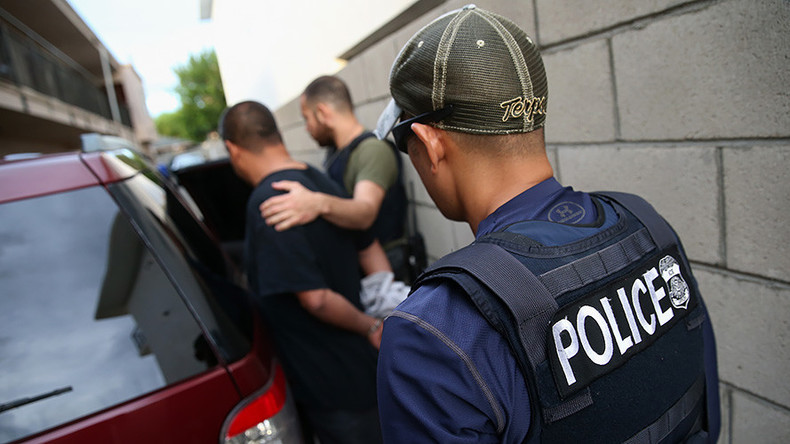 Despite more arrests, deportations down under Trump